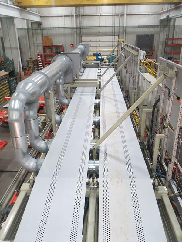 Vacuum capabilities added during line rebuild